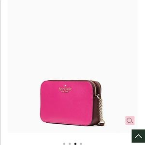 NWT/ KATE SPADE Hot Pink/Burgundy purse/ wallet